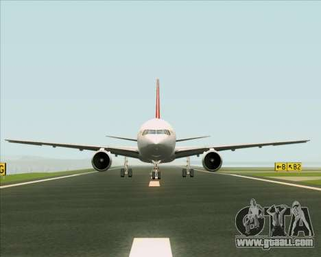 Boeing 767-300F Qantas Freight for GTA San Andreas interior