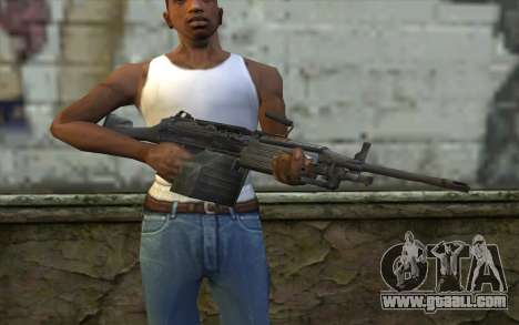 FN M249E2 SAW from SoF: Payback for GTA San Andreas third screenshot