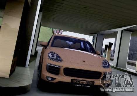 Porsche Cayenne 2015 for GTA San Andreas