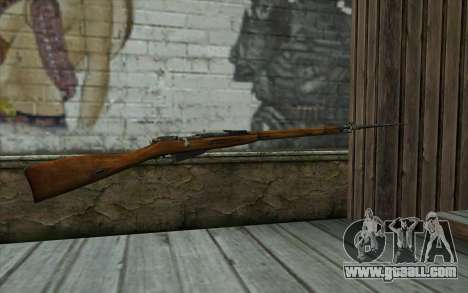 The Mosin-v13 for GTA San Andreas second screenshot
