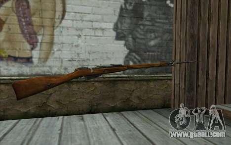 The Mosin-v13 for GTA San Andreas second screenshot
