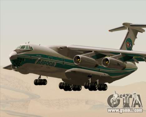 IL-76TD ALROSA for GTA San Andreas inner view