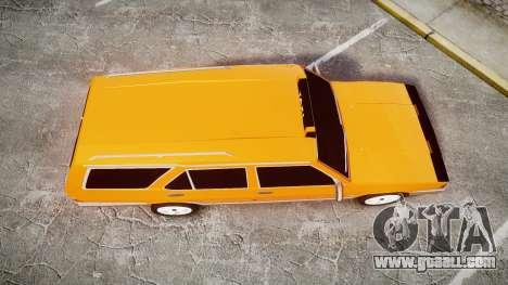 Tofas Kartal SLX Taxi for GTA 4 right view