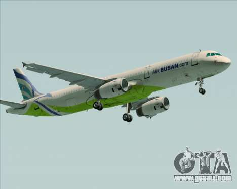 Airbus A321-200 Air Busan for GTA San Andreas left view