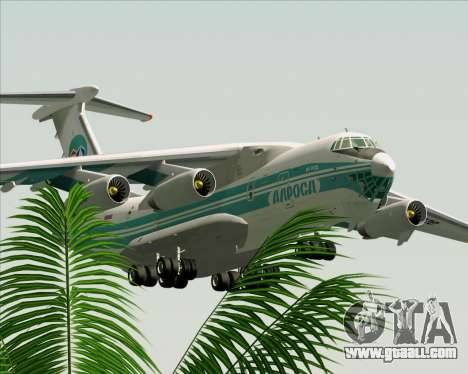 IL-76TD ALROSA for GTA San Andreas