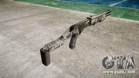 Ружьё Franchi SPAS-12 Ghotex for GTA 4 second screenshot