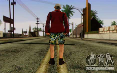 Squad member AI Skin 1 for GTA San Andreas second screenshot