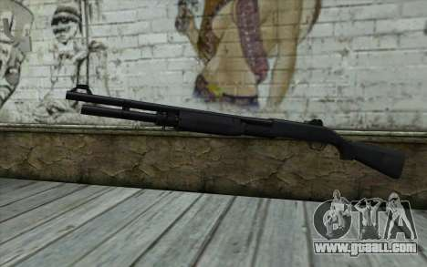 Benelli M3 Bump Mapping v3 for GTA San Andreas