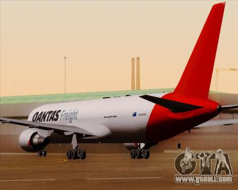 Boeing 767-300F Qantas Freight for GTA San Andreas