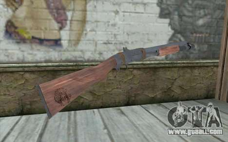 Shotgun from Primal Carnage v2 for GTA San Andreas second screenshot