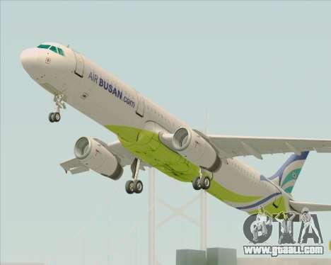 Airbus A321-200 Air Busan for GTA San Andreas