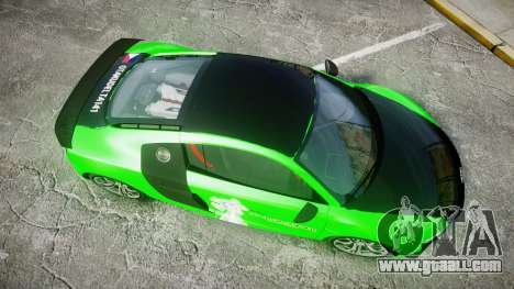 Audi R8 GT Coupe 2011 Yoshino for GTA 4 right view