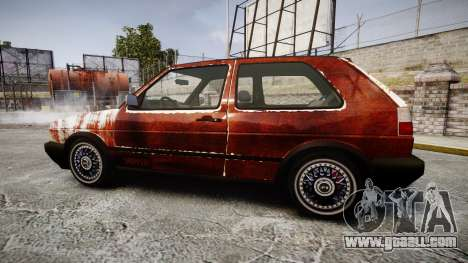 Volkswagen Golf GTI Mk2 Budget Street Cred for GTA 4 left view