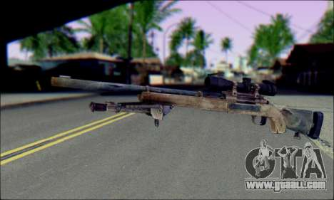 M24Jar Sniper rifle from SGW2 for GTA San Andreas