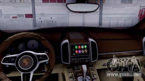 Porsche Cayenne 2015 for GTA San Andreas right view