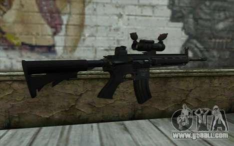 HK416 (Bump mapping) v2 for GTA San Andreas second screenshot