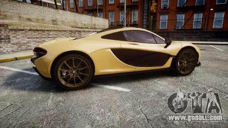 McLaren P1 [EPM] for GTA 4 left view