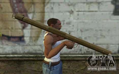 M1 Bazooka from Day of Defeat for GTA San Andreas third screenshot