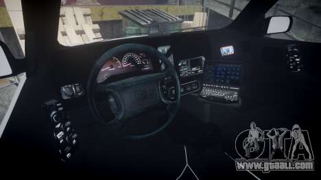 Dodge Durango 2000 Undercover [ELS] for GTA 4 back view