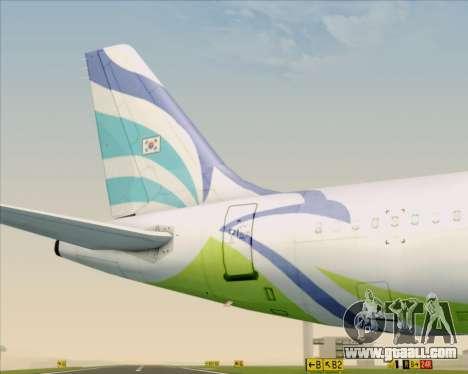Airbus A321-200 Air Busan for GTA San Andreas engine