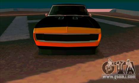Chevrolet Camaro SS 1967 (Bumblebee) for GTA San Andreas left view