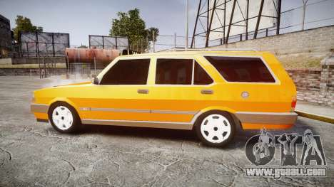 Tofas Kartal SLX Taxi for GTA 4 left view