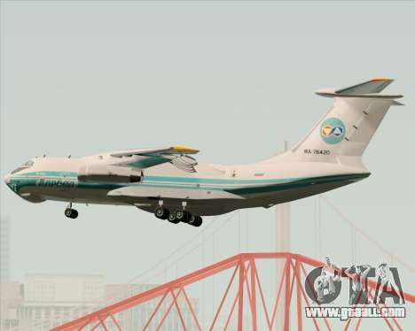 IL-76TD ALROSA for GTA San Andreas side view