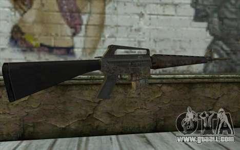 M16A1 from Battlefield: Vietnam for GTA San Andreas second screenshot