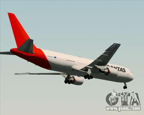 Boeing 767-300F Qantas Freight for GTA San Andreas back view
