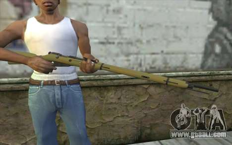 The Mosin-v3 for GTA San Andreas third screenshot