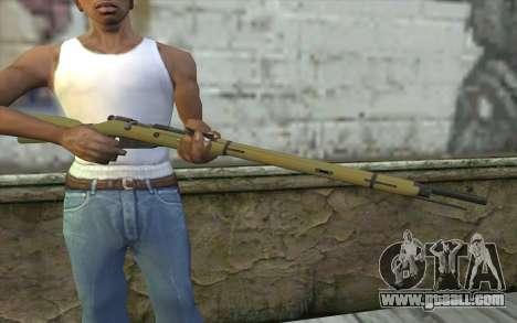 The Mosin-v3 for GTA San Andreas third screenshot