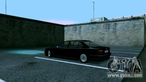 BMW 750iL for GTA San Andreas back view
