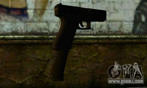 Glock 18 from Medal of Honor: Warfighter for GTA San Andreas second screenshot