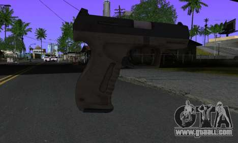 Walther P99 Bump Mapping v2 for GTA San Andreas second screenshot