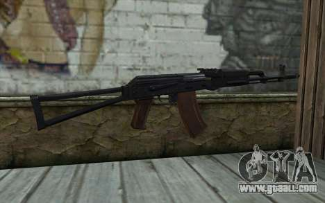 AKS-74 for GTA San Andreas