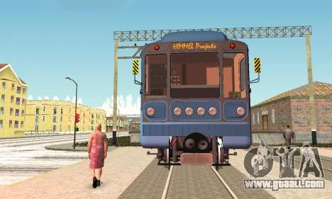 Metrophage type 81-717 for GTA San Andreas left view