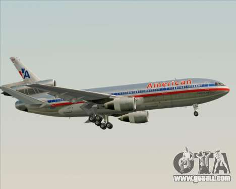 McDonnell Douglas DC-10-30 American Airlines for GTA San Andreas engine