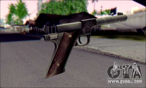Silenced Pistol from Death to Spies 3 for GTA San Andreas second screenshot