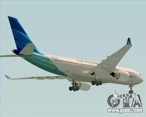 Airbus A330-243 Garuda Indonesia for GTA San Andreas engine