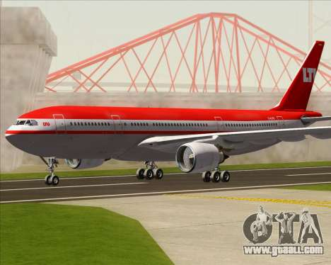 Airbus A330-200 LTU International for GTA San Andreas left view