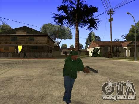 Cleo Walk Style for GTA San Andreas third screenshot
