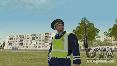 Sub-inspector DPS for GTA San Andreas