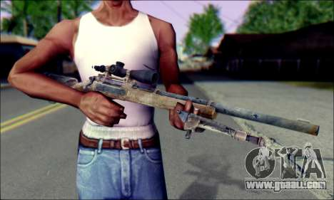 M24Jar Sniper rifle from SGW2 for GTA San Andreas third screenshot