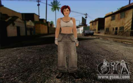 Mila 2Wave from Dead or Alive v11 for GTA San Andreas
