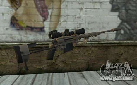 Sniper Rifle Cheytac M200 Intervention for GTA San Andreas second screenshot