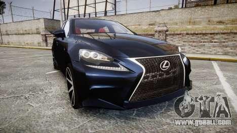 Lexus IS 350 F-Sport 2014 Rims2 for GTA 4