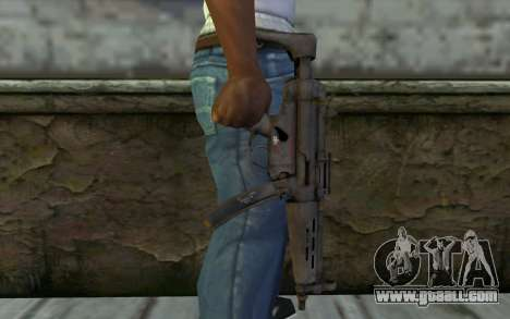 MP5 from FarCry 3 for GTA San Andreas third screenshot