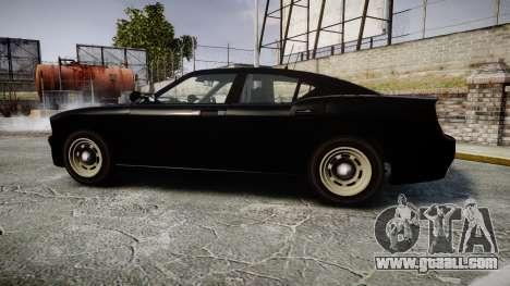 GTA V Bravado Buffalo Unmarked [ELS] Slicktop for GTA 4 left view