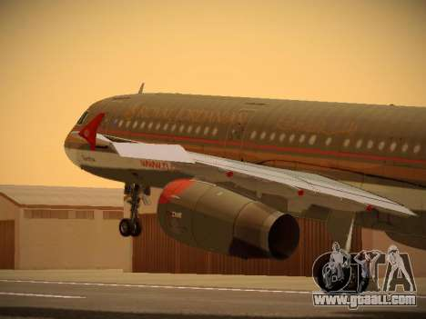 Airbus A321-232 Royal Jordanian Airlines for GTA San Andreas
