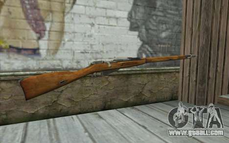 The Mosin-v5 for GTA San Andreas second screenshot